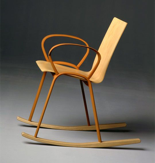 Enzo mari rocking chair 2003 furniture kinda woody for Schaukelstuhl sims 3