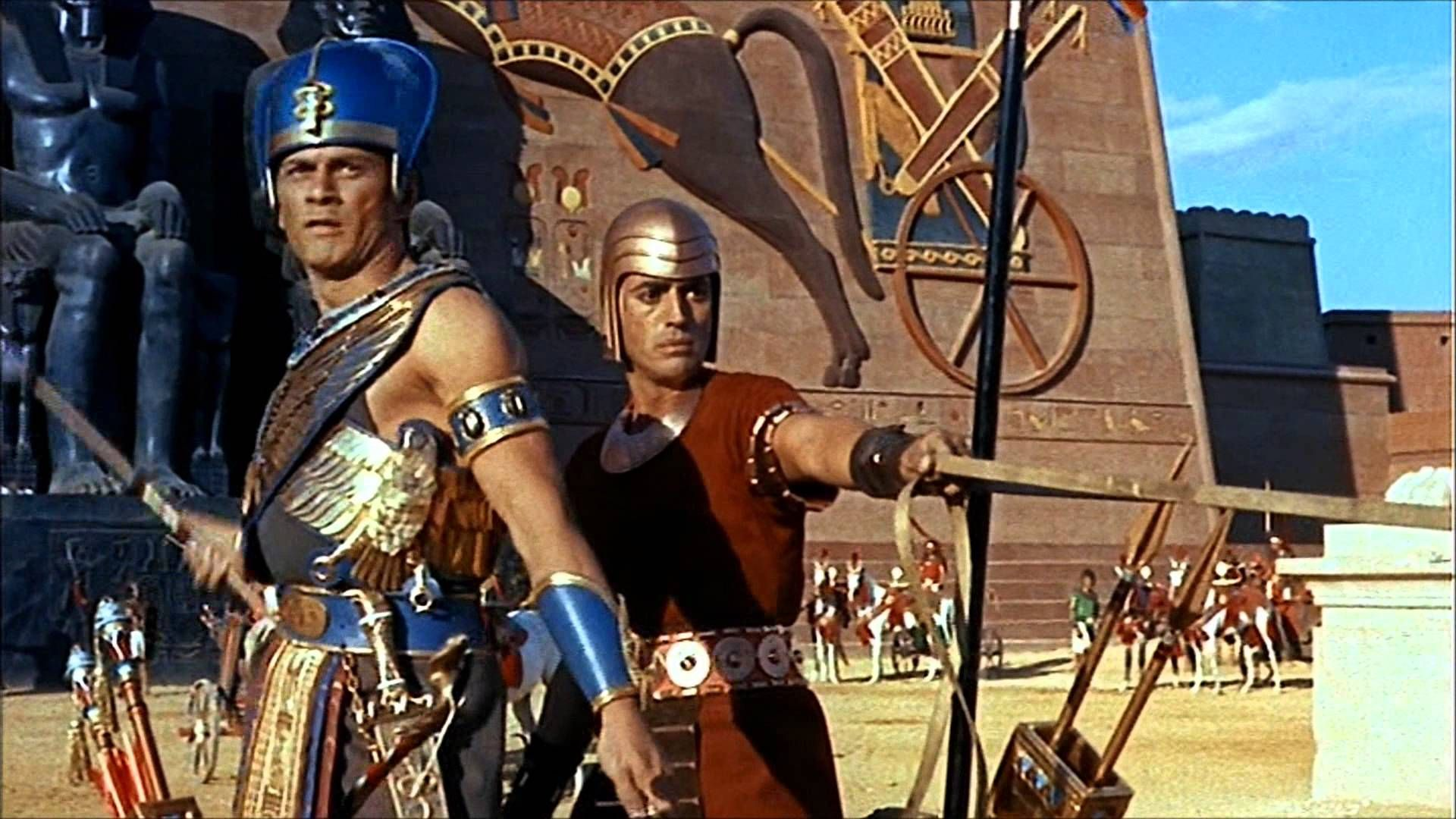 Yul Brynner As Ramses In The Ten Commandments 1956 The Bible Movie Good Movies Yul Brynner