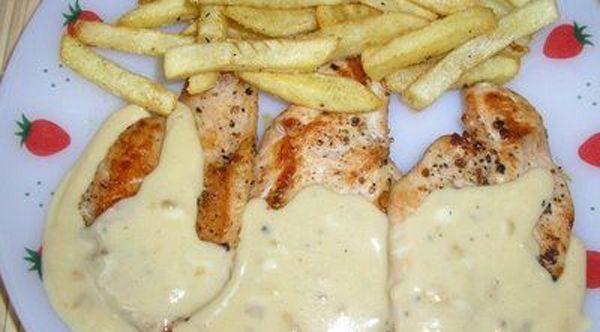 Pechugas de pollo en salsa de queso recetas de cocina - Comidas baratas y rapidas ...