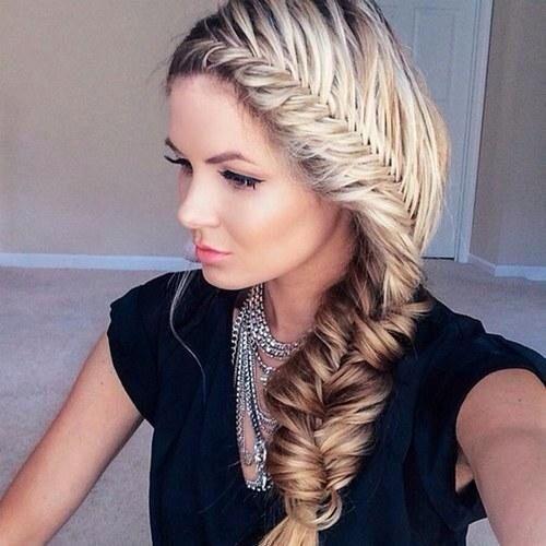 este peinado es ahora muy famoso entre chicas jvenes o es muy fcil