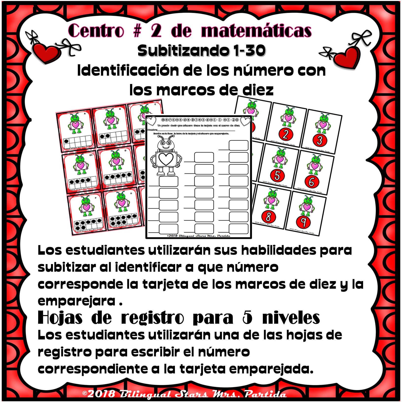 Febrero February Centros De Literatura Y Matematicas