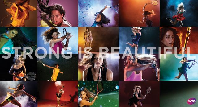 Our Tennis Players: Strong is Beautiful