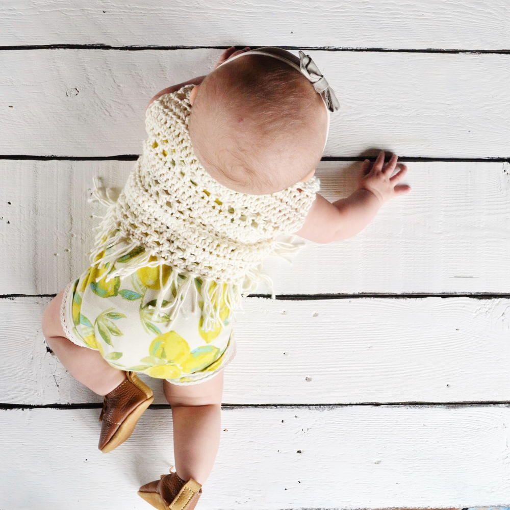 Boho Baby Crochet Vest Pattern