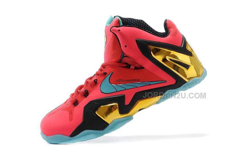 1779c47fdb96 Mens Nike-LeBron-11-Elite-Hero-Laser-Crimson-Turbo