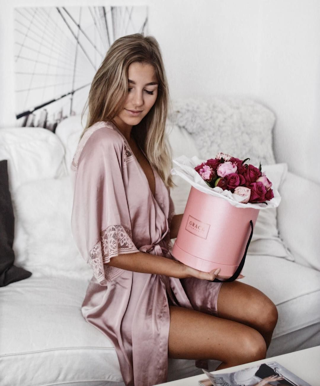 Perfect match clickacouture & GRACE Flowerbox