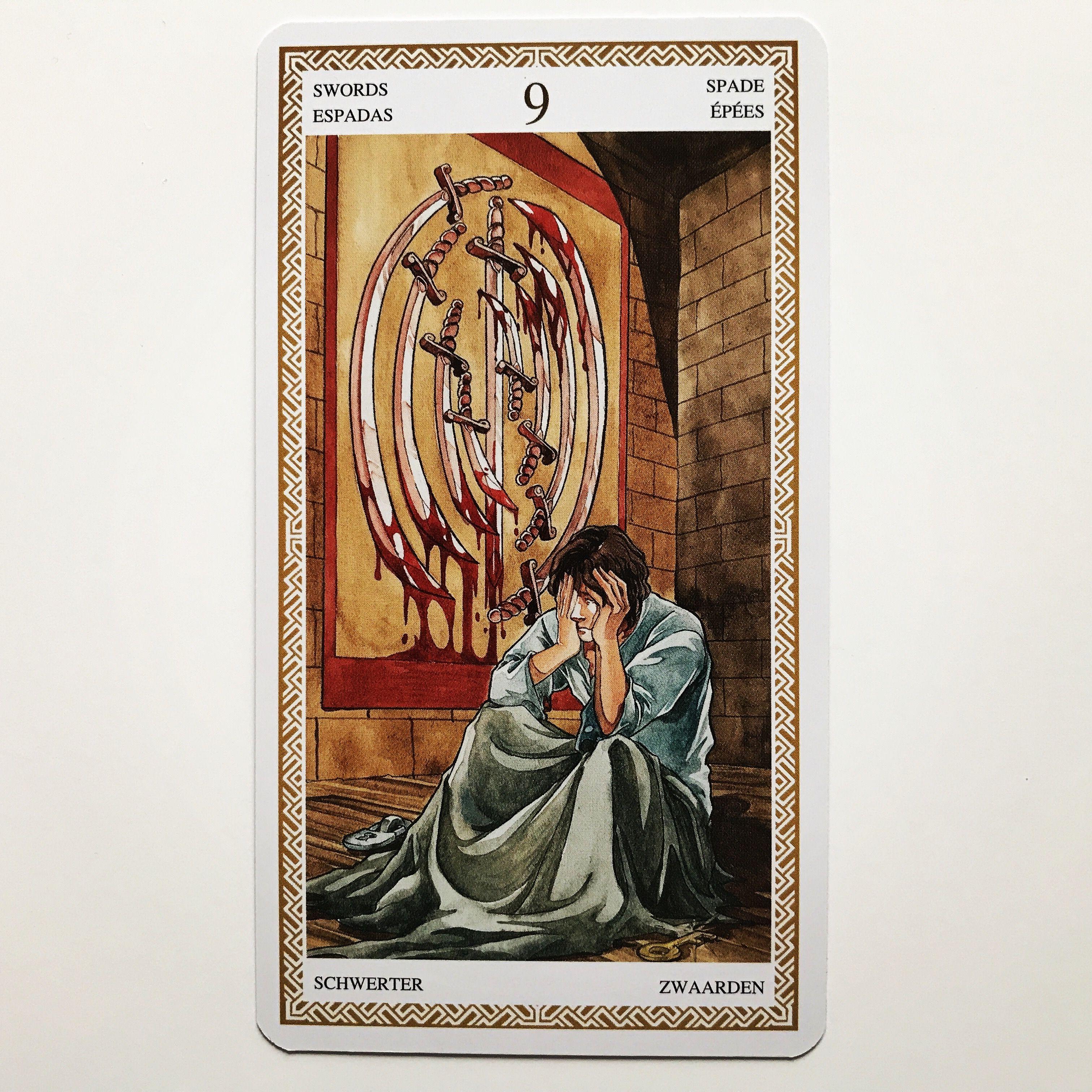 pinwheel of fortune tarot on tarot cards  tarot cards