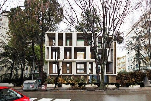 Alessandro Bucci Architetti - Edificio residenziale en la Via Laghi