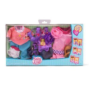 Baby Alive Baby Doll Large Reversible Outfits 3 Pack By Hasbro 32 99 Size Large Baby Alive Fashion Cuti Baby Alive Dolls Baby Alive Baby Alive Doll Clothes