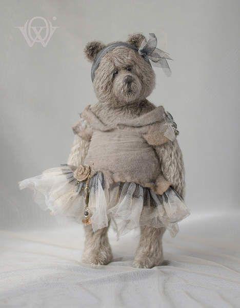 Foggy Day By Olga Vishnevetskaya - Bear Pile   Soft, Plush, Stuffed ...