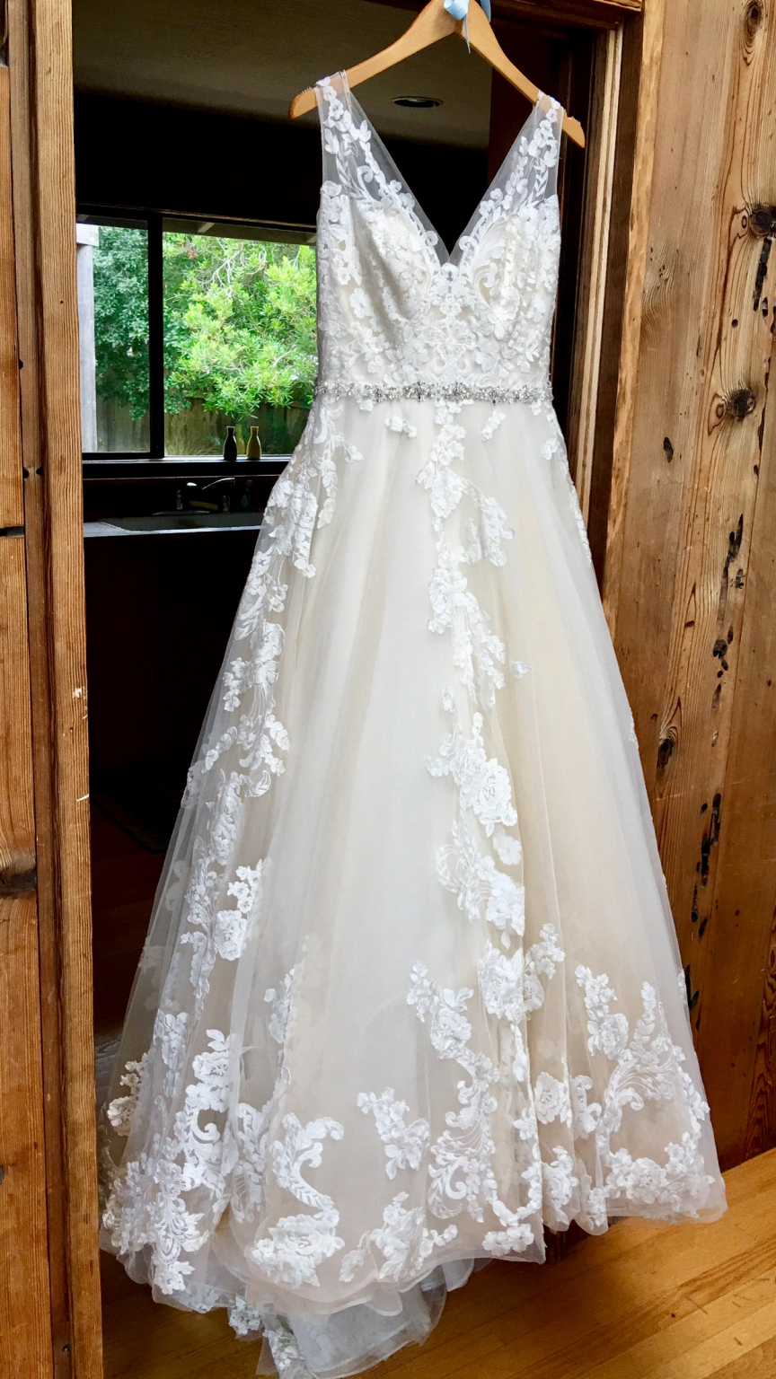 Maggie Sottero Sybil Wedding Dress Used Size 10 999