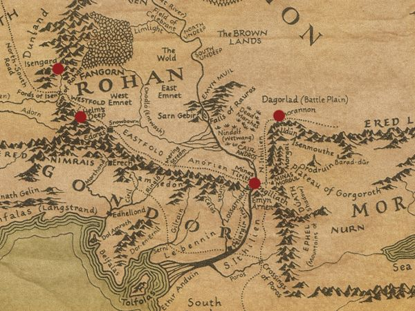 Year 3019 – The Lord of the Rings March 3 Théoden retreats to