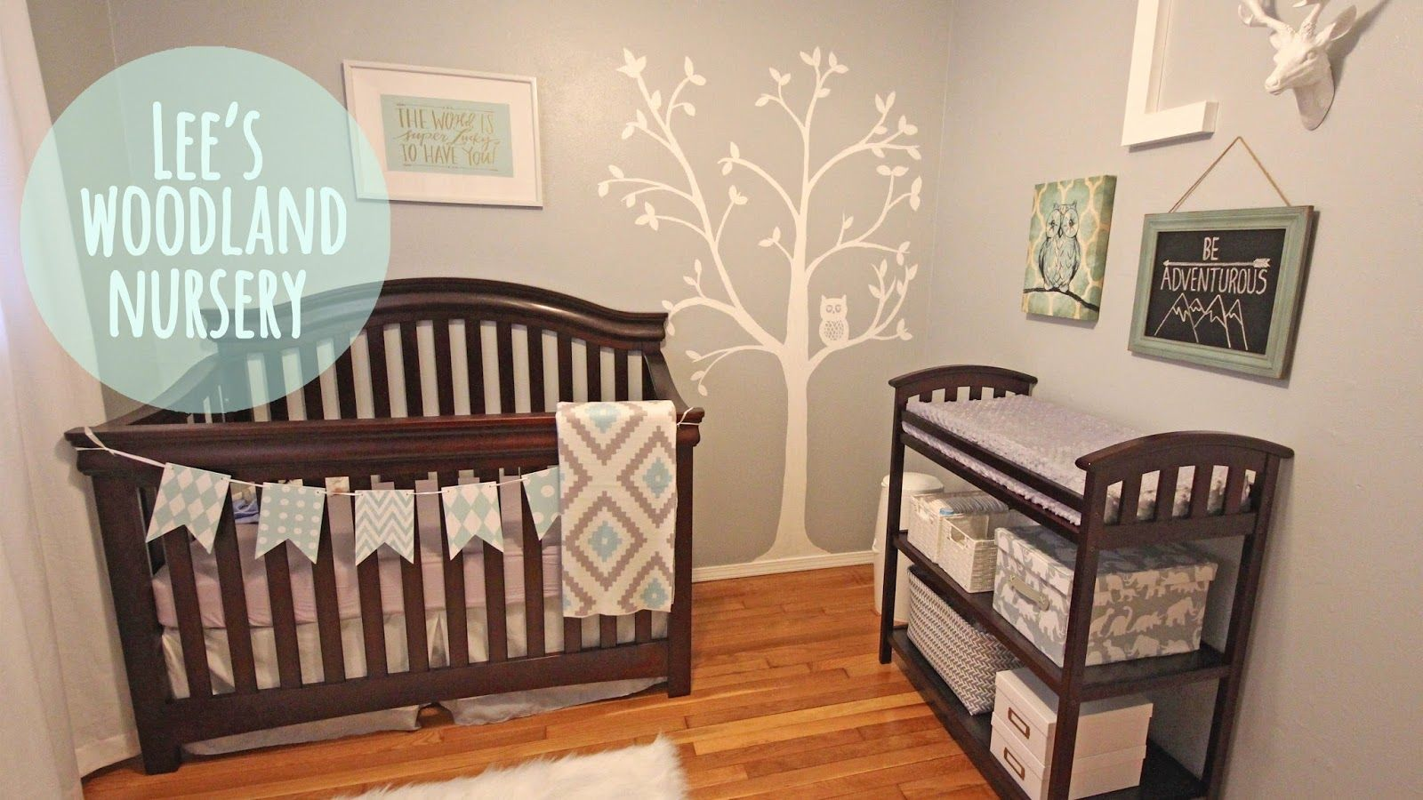 Lee S Woodland Nursery Baby Boy Or Girl Nursery Modern