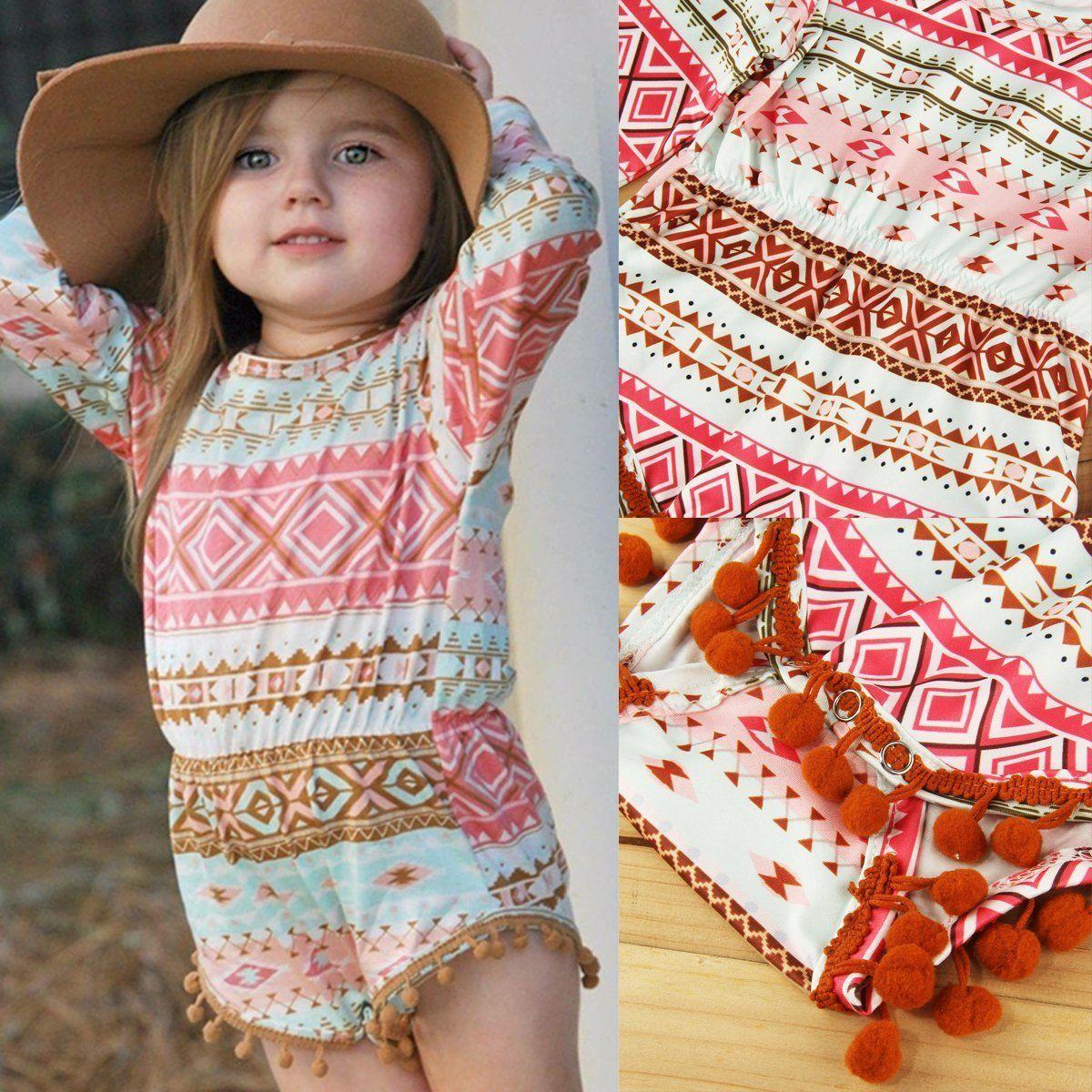 ed8598e9f Newborn Infant Baby Girl Clothes Jumpsuit Romper Bodysuit Sunsuit Toddler  Outfit