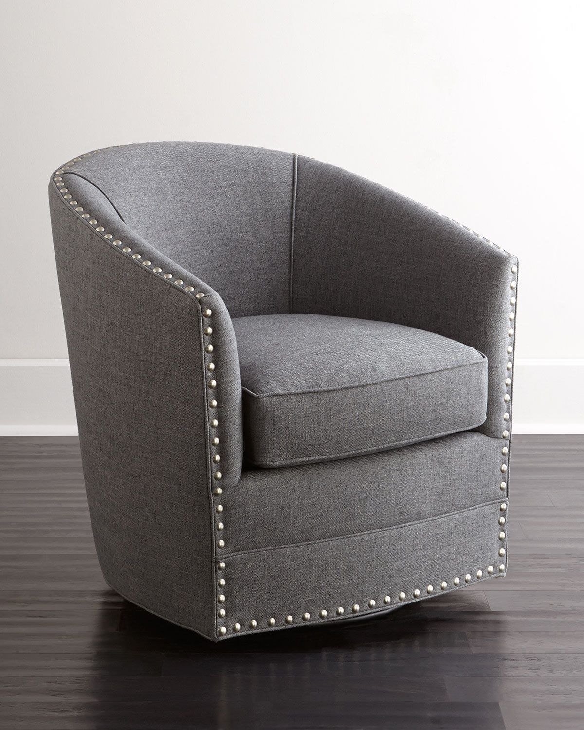 Bryn St. Clair Swivel Chair Grey swivel chairs, Swivel