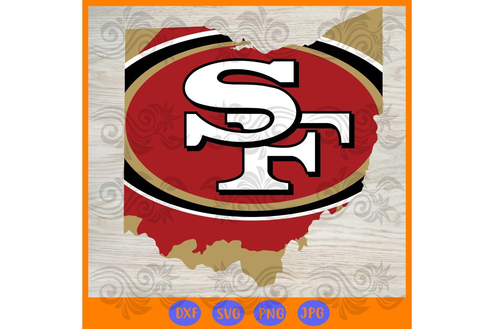 San Francisco 49ers svg 2,NFL svg, Football svg file