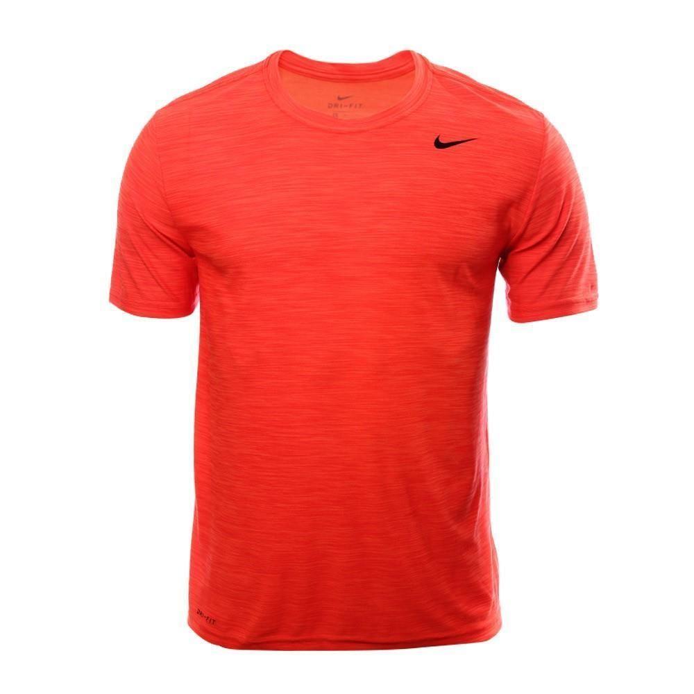 Nike Mens Breathe Lightweight Short Sleeve Orange 3XL DriFIT