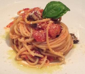 Spaghetti di Gragnano ai profumi del Mediterraneo