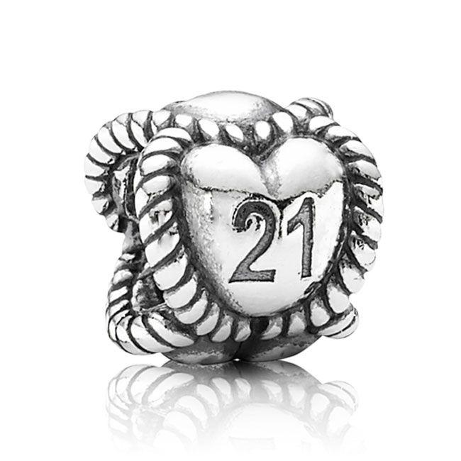 Pandora 21 Charm