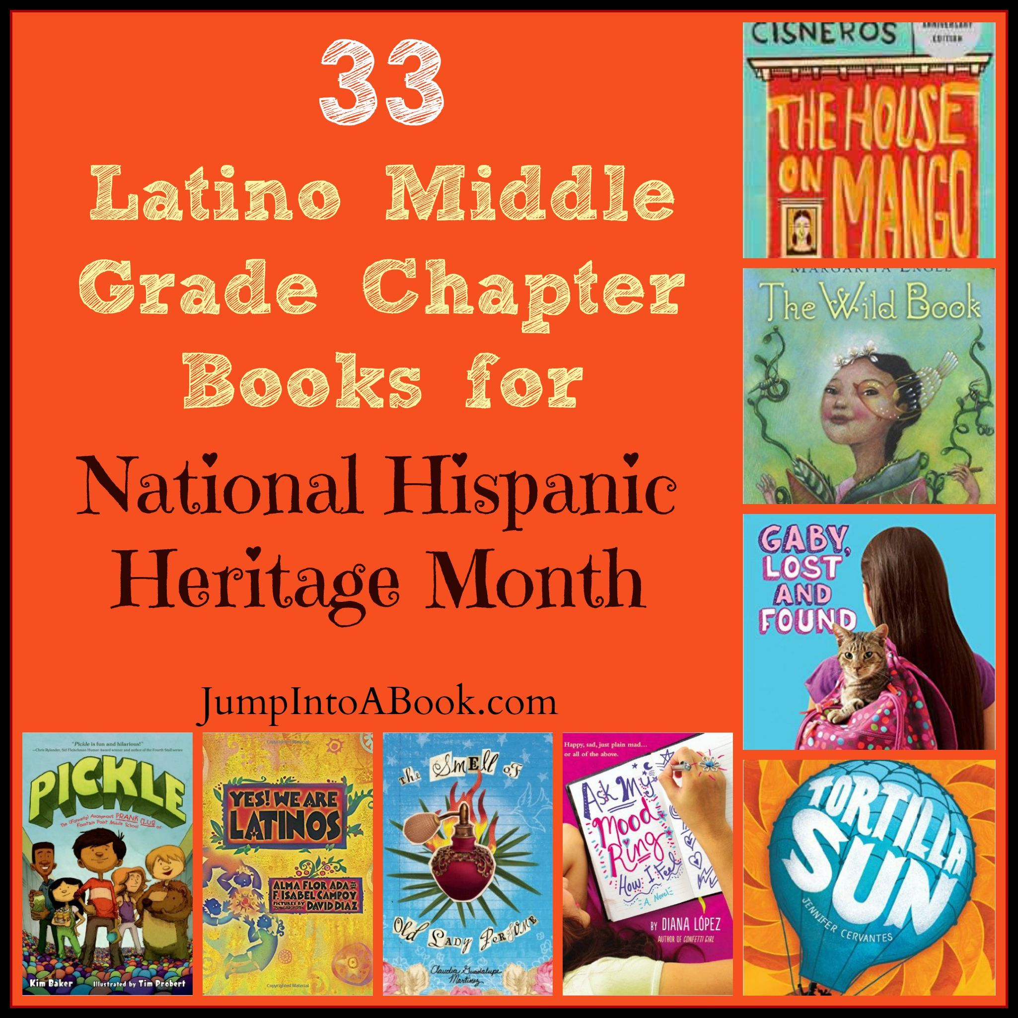33 Latino Middle Grade Chapter Books For National Hispanic