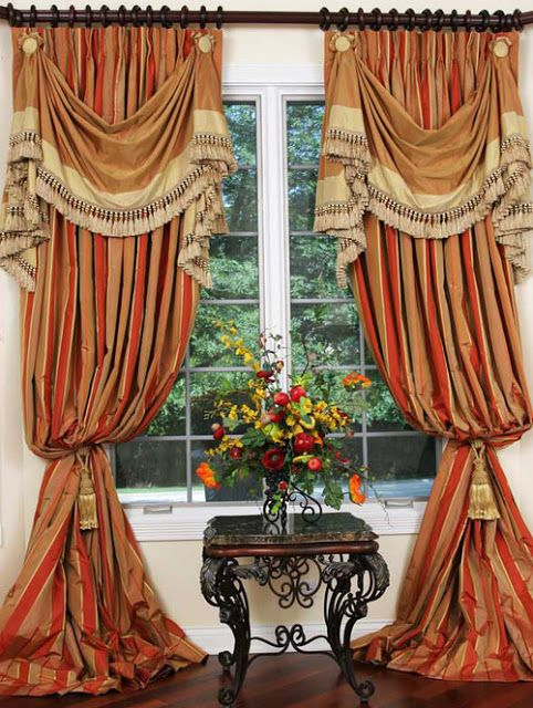 2017 New Traditional Curtain Designs Ideas