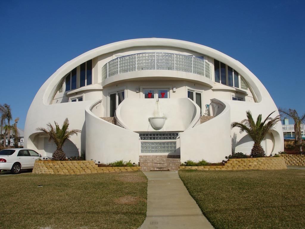 Dome House Google Images Unique House Plans Crazy Houses Unusual Buildings