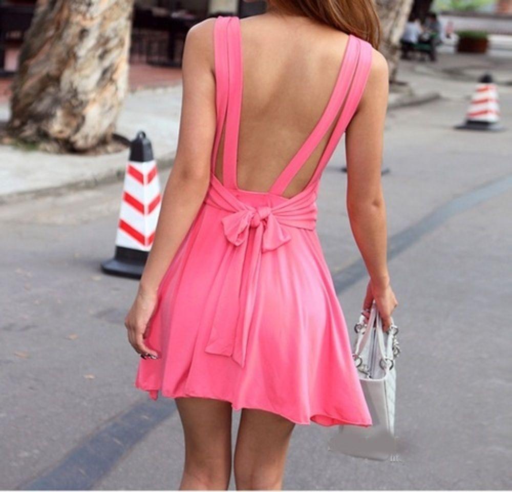 Pretty Open-Back Dresses