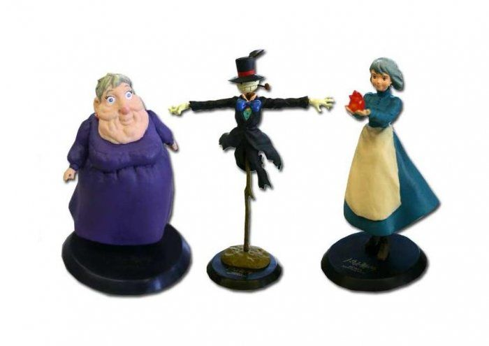 HOWL/'S MOVING CASTLE Sophie/'s Castle Resin Statue Cominica Ghibli Miyazaki