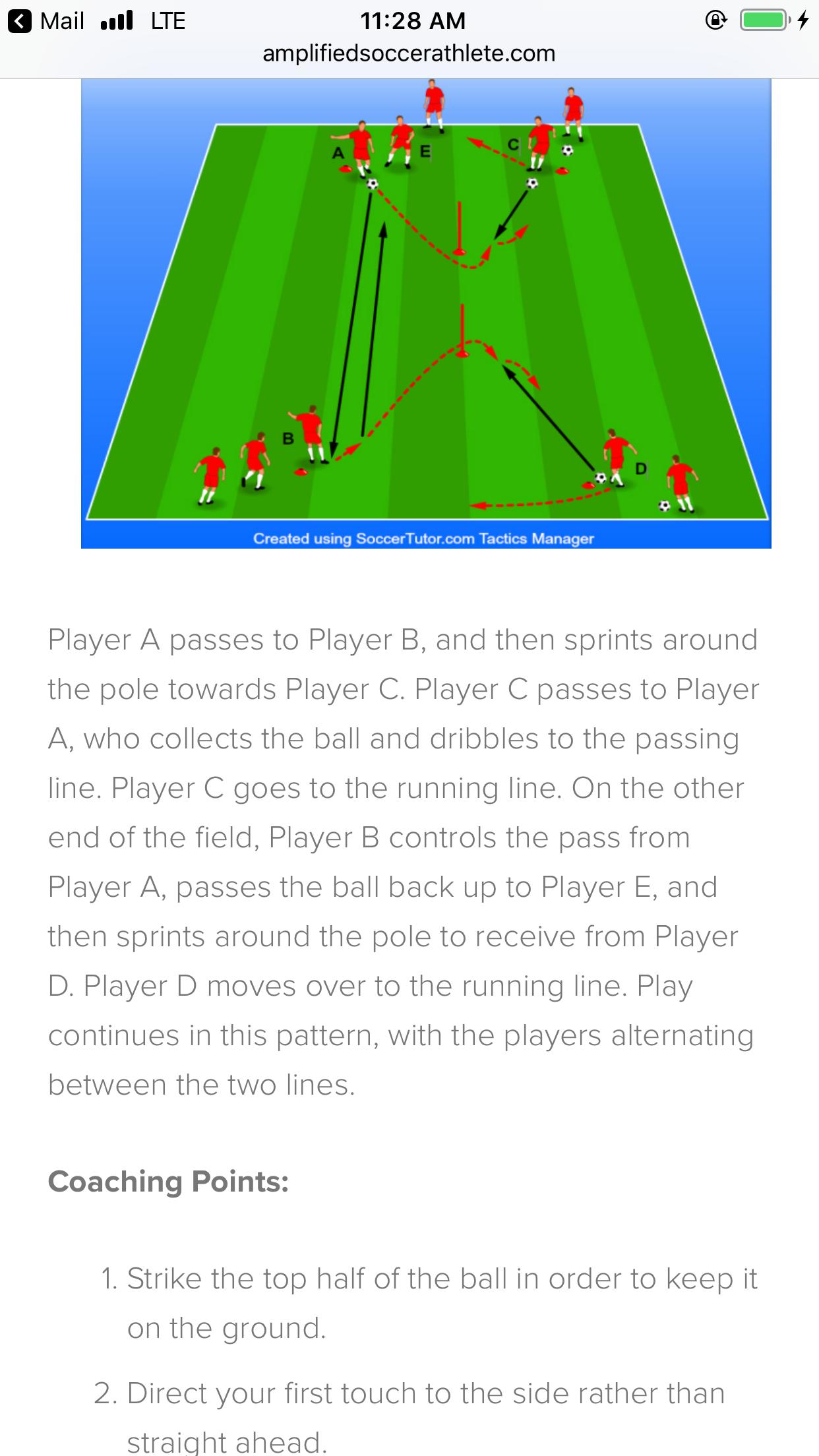 Pin Van B H Op Youth Soccer Training Voetbal Oefeningen Voetbal Training Voetbaltraining