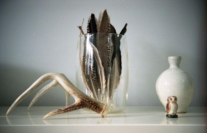 decorating with feathers | The Farmer's Trophy Wife