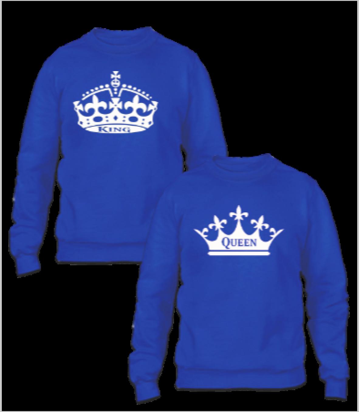 KING AND QUEEN COUPLE - Couple Sweatshirt