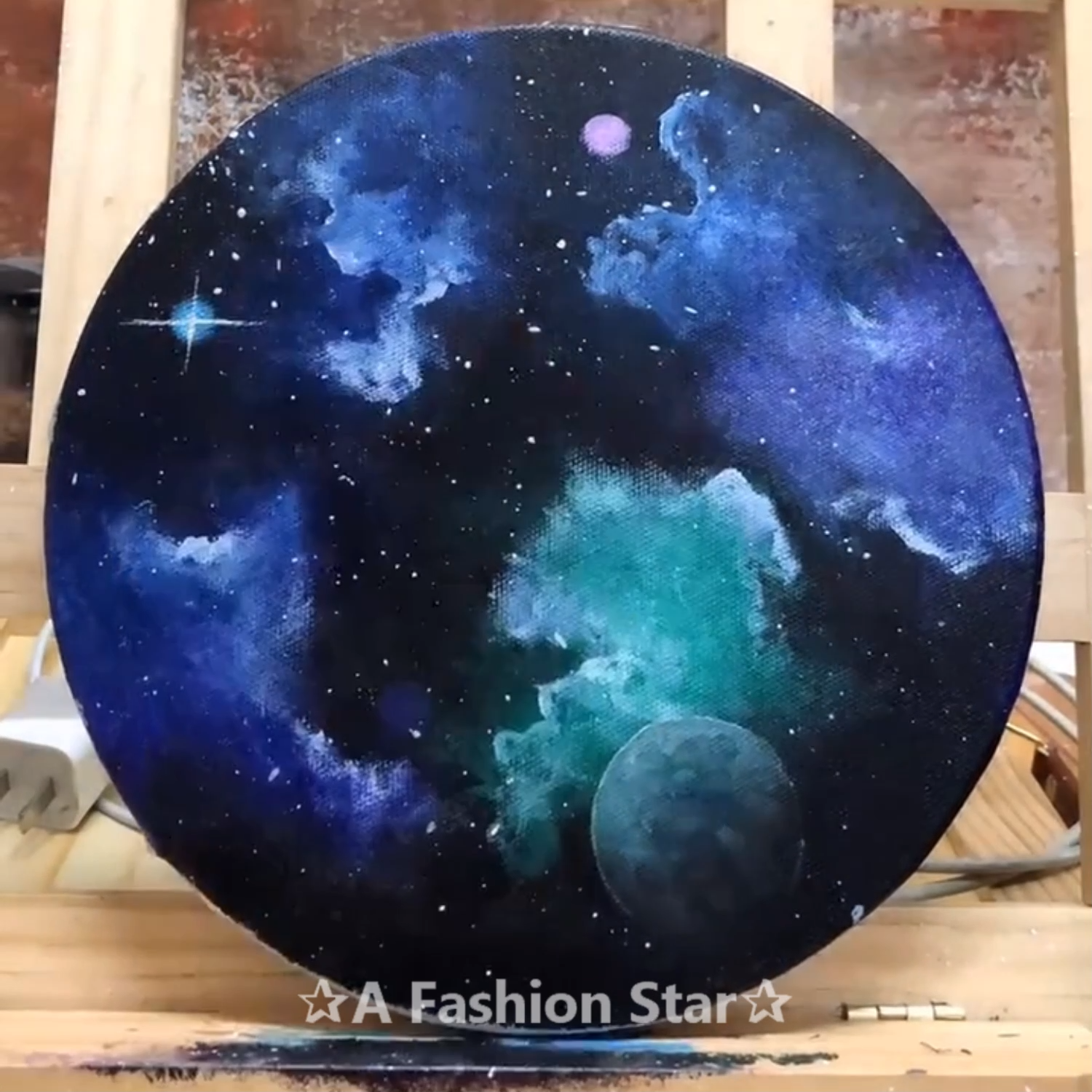 Photo of 10 Easy DIY Painting For Home Decor – Star Art