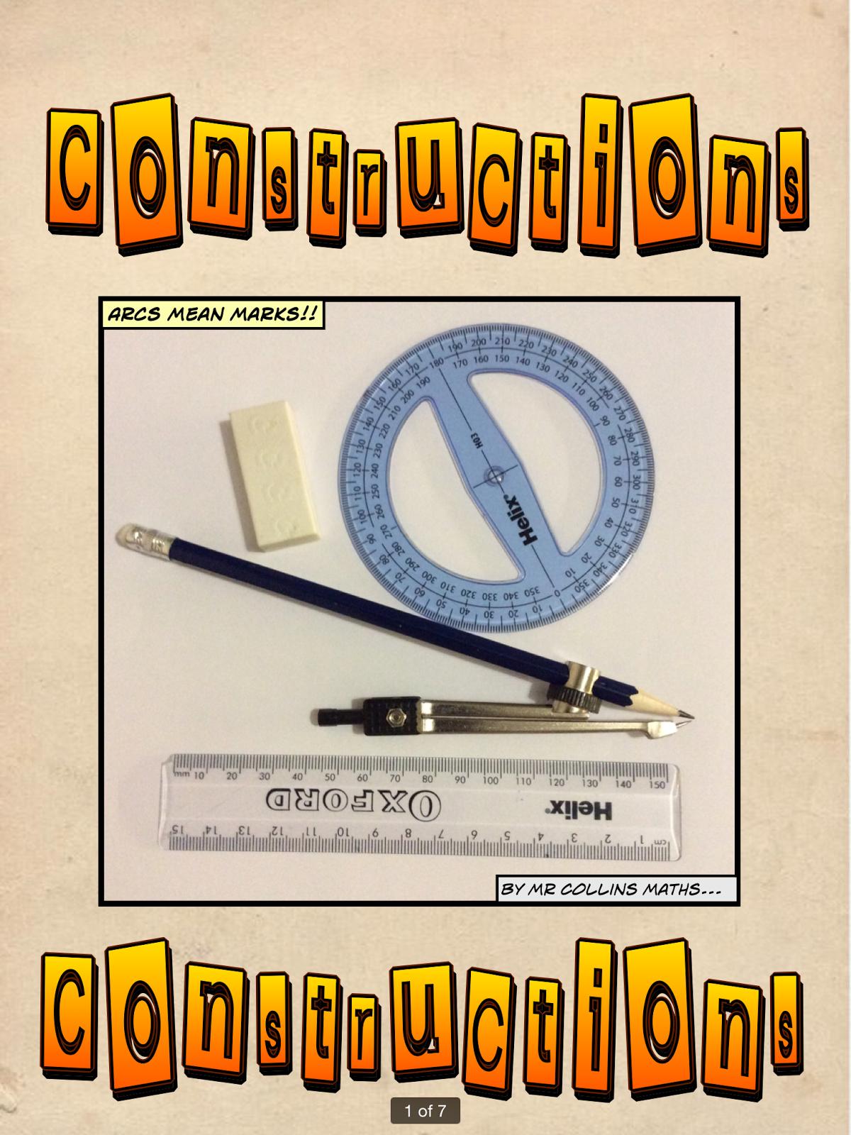 Mr Collins Mathematics Blog Constructions Resources Using