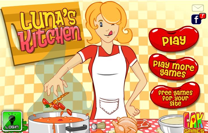 لعبة مطبخ لونا الشهي واللذيذ لعبة حلوة من العاب طبخ الرائعة جدا
