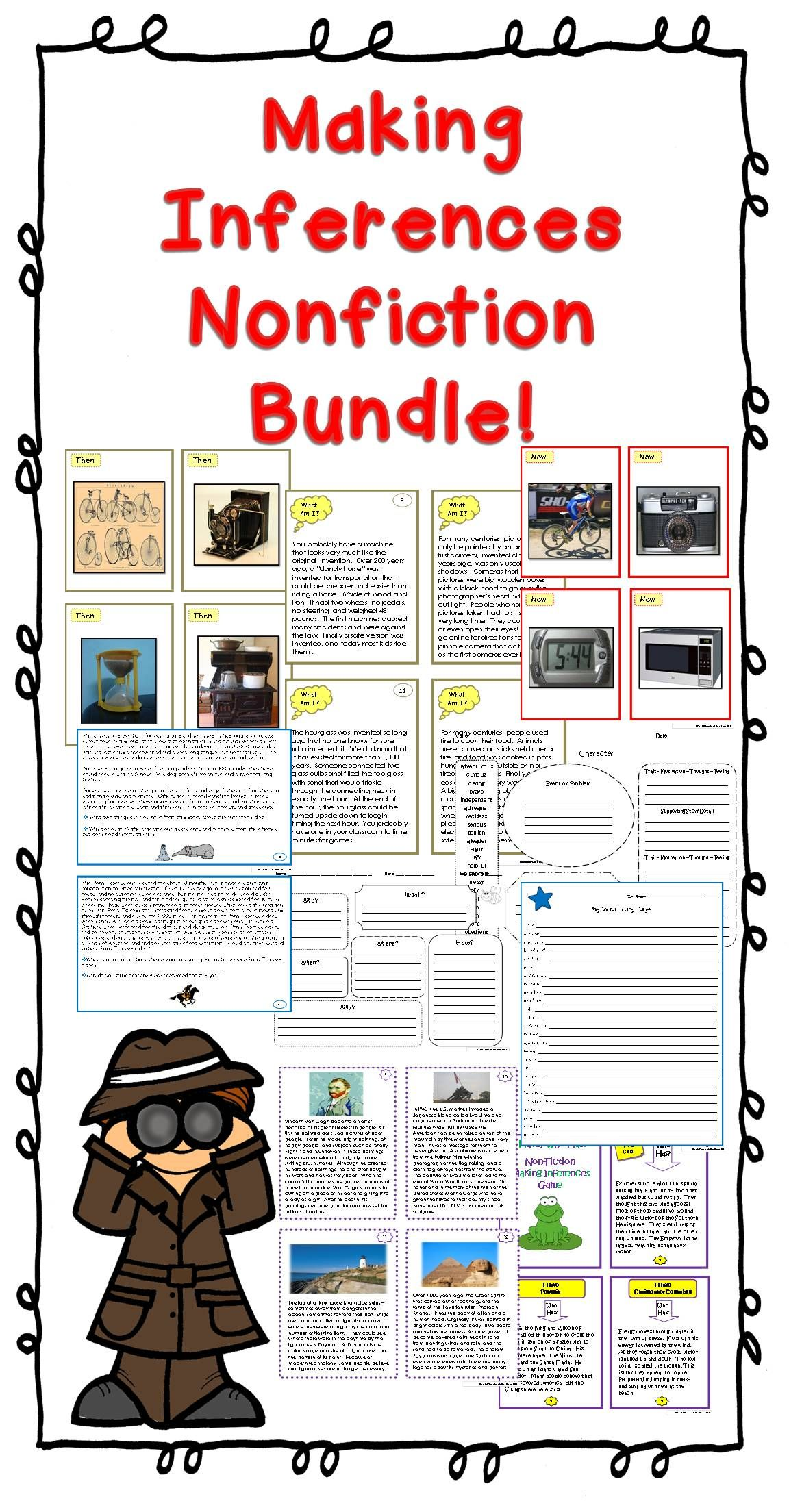 Inference Nonfiction Passages Bundle
