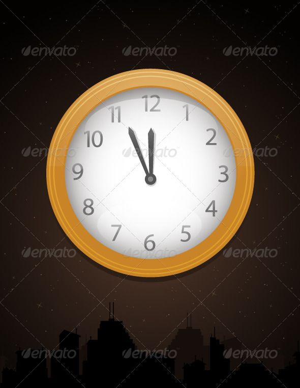 Happy New Year  #GraphicRiver         New Year countdown. Eps 10 file, transparency and blending modes used. Layered file.     Created: 22November12 GraphicsFilesIncluded: JPGImage #VectorEPS Layered: Yes MinimumAdobeCSVersion: CS Tags: NewYear& #x27;sEve #abstract #celebration #city #clock #countdown #decoration #event #golden #holiday #illustration #midnight #newyear #night #silhouette #skyline #stars #vector