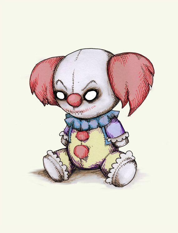 Scary Doll Drawing : scary, drawing, Melaniekaminski, Dibujos, Scary, Drawings,, Creepy, Drawing