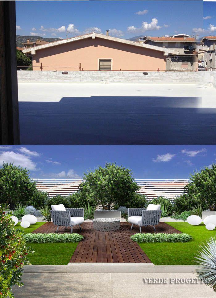Giardino Pensile In Sardegna Roof Garden In Sardegna