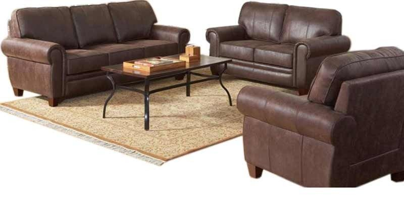Buy Palatial Sofa Set 3 2 1 Seater In Brown Colour By Planet