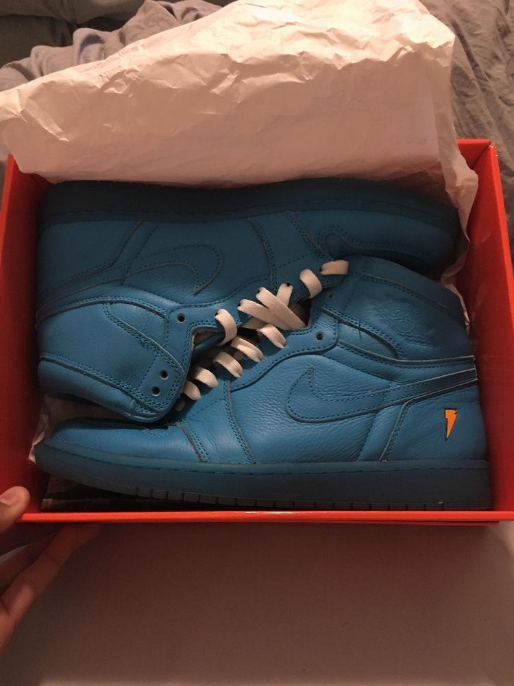 88a8333870fdd4 Nike Air Jordan 1 Retro High Gatorade OG Size 10 Shoes Blue Lagoon AJ5997- 455  fashion  clothing  shoes  accessories  mensshoes  athleticshoes (ebay  link)
