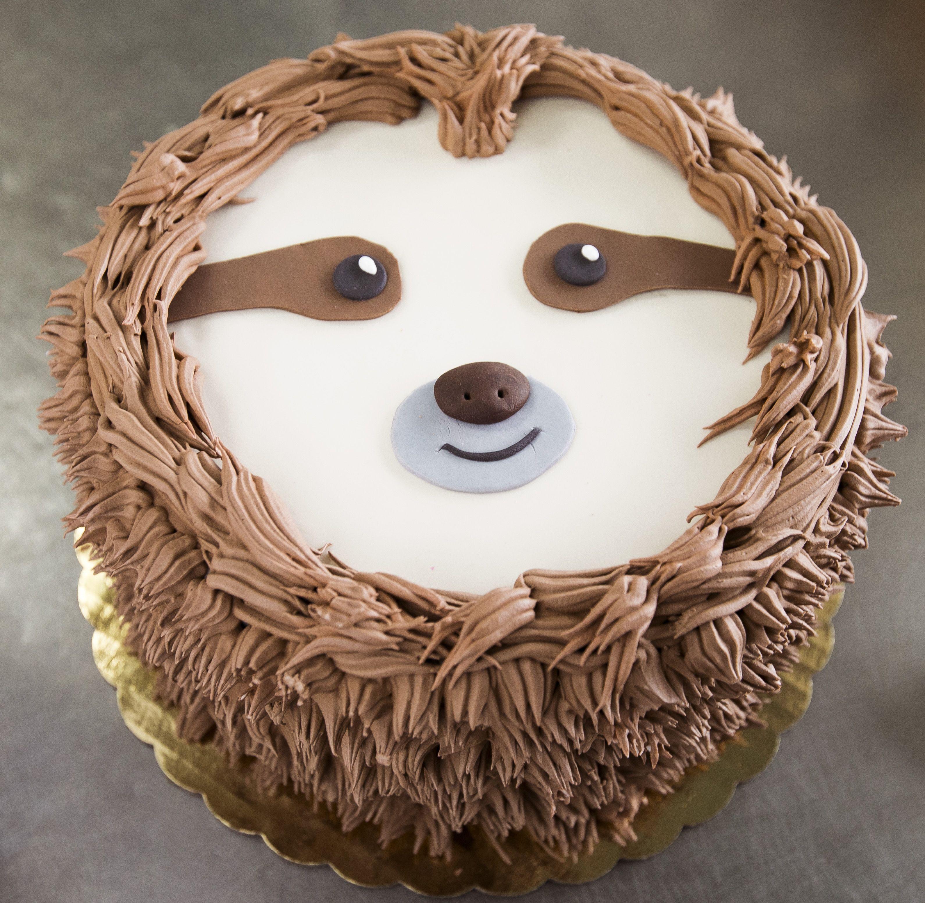 Sloth Birthday Cake Sloth Birthday Cake My Birthday Cake Sloth Birthday