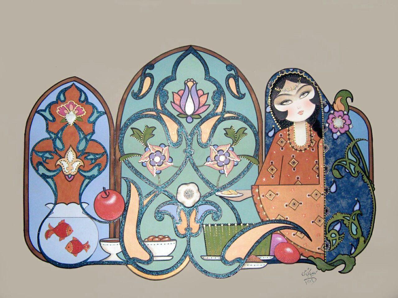 نقاشی پرنسس های دخترانه