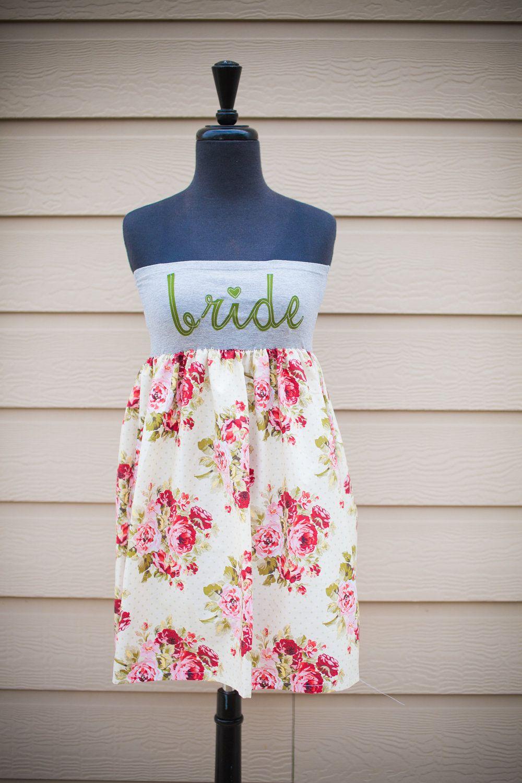 Meet Me In the Garden BRIDE Dress