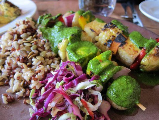 CRVE worthy - Mesquite Grilled Brochettes @ Greens, SF