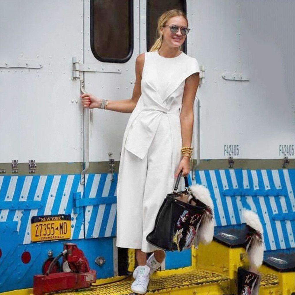 Photo of Pagliaccetti maniche casual in cotone sciolto tinta unita moda donna donna