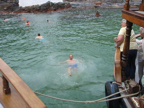 Baño Termal | Palia Kameni Aguas Termales En Santorini Si Quieres Darte Un Bano