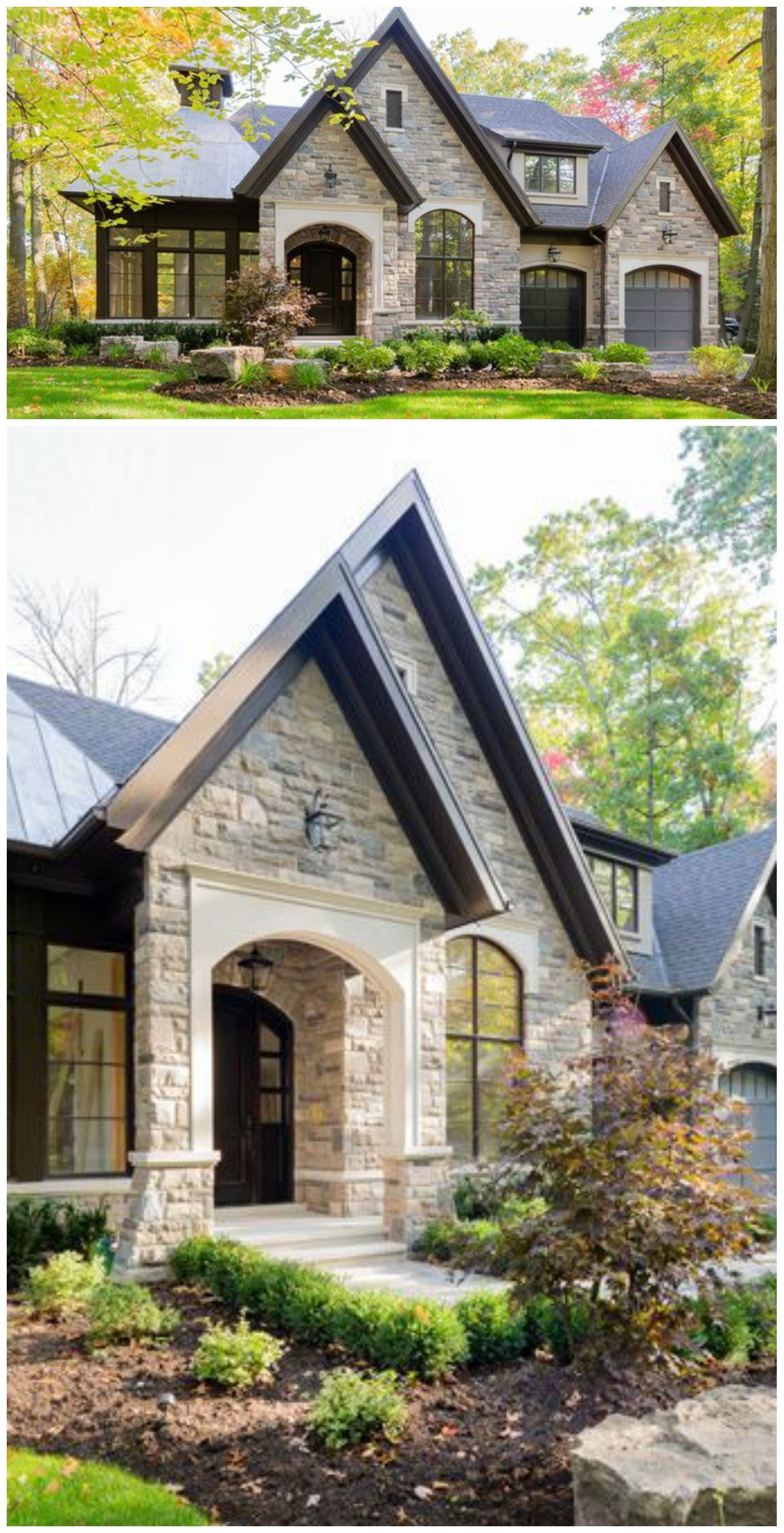 Beautiful home by david small designs exterior envy for Beautiful home entrance design