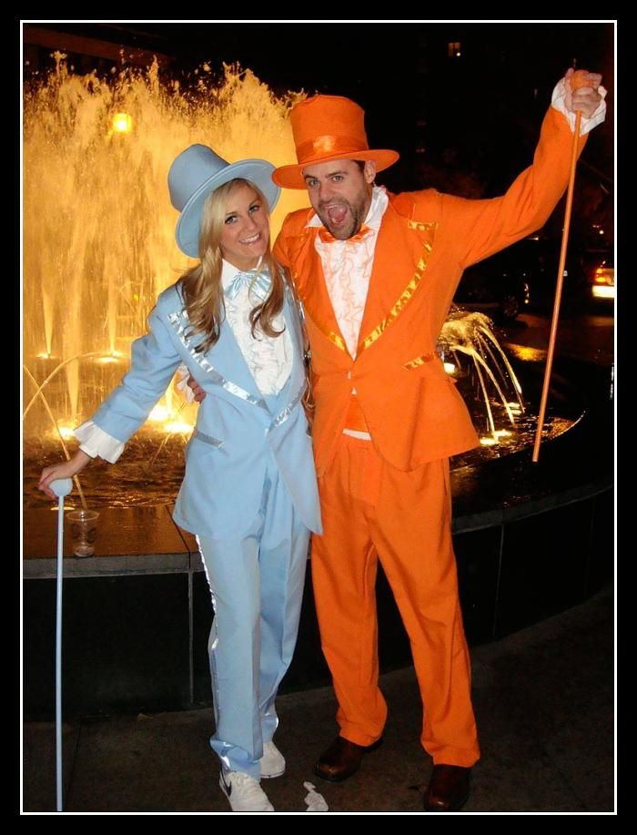 2020 Halloween Couples Costume Ideas Dumb and Dumber Couples Costume | Party On | Celebrity halloween