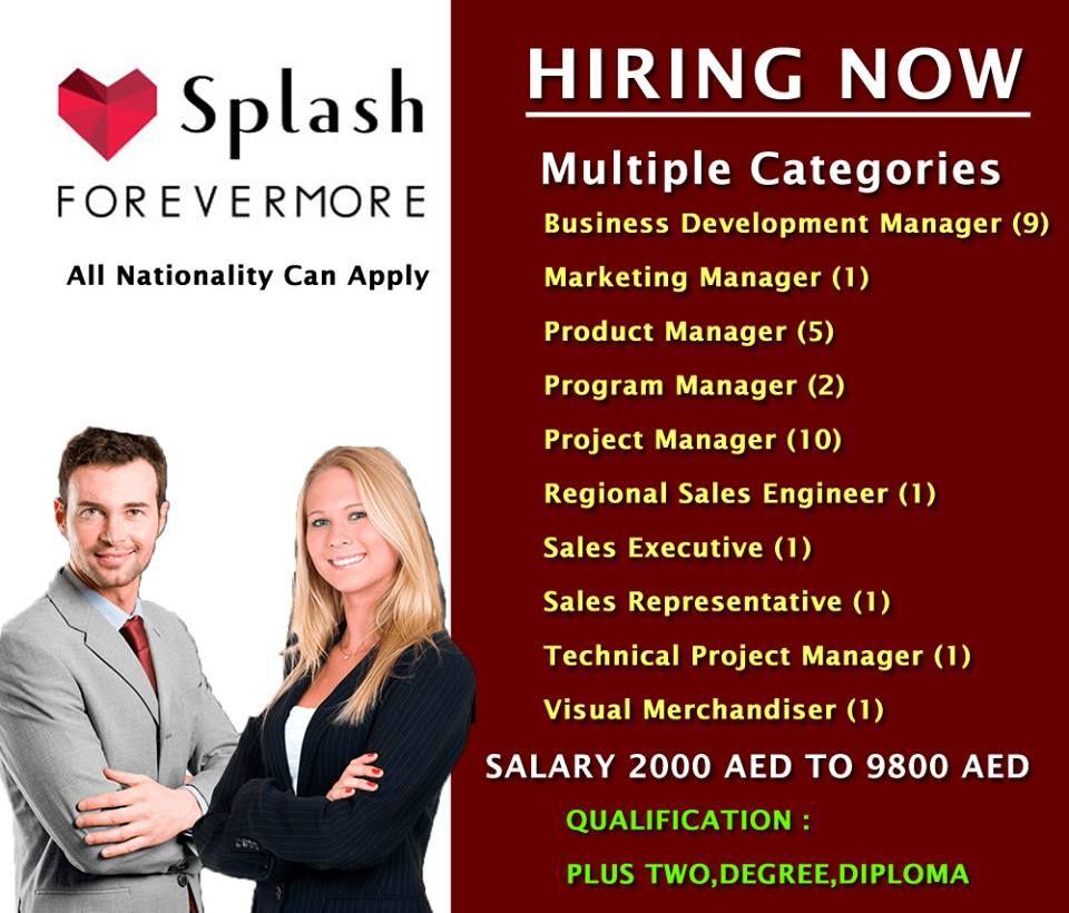 Marketing Jobs-SPLASH FASHION Worldwide Recruitment