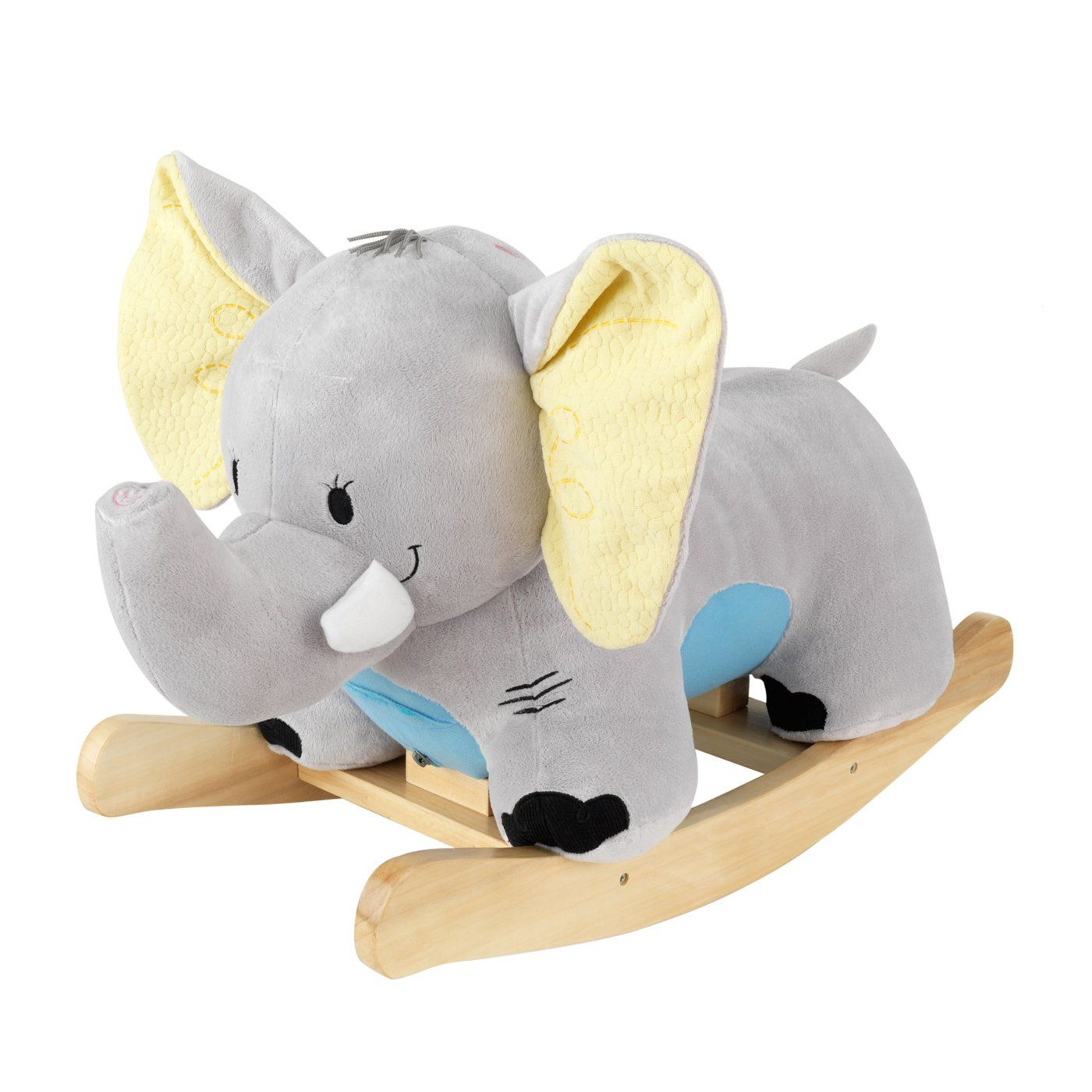 Aunt Priscilla Has A Rocking Chair Gray Dining Chairs Target Kidkraft 66106 Plush Rocker Elephant Horse Cool