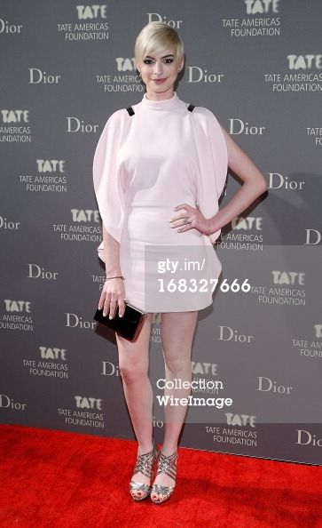 Anne Hathaway attends the 2013 Tate Americas Foundation…